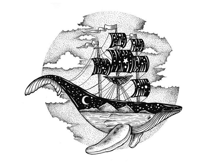 ilustrador cria incr237veis desenhos utilizando pontos