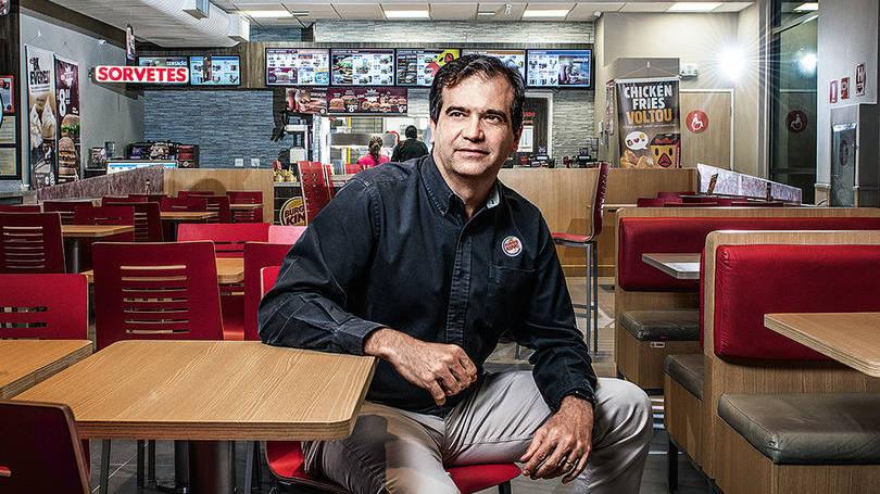Iuri Miranda, do Burger King: a rede quadruplicou em cinco anos.